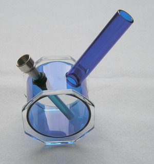 Vodní dýmka - Bongo modré