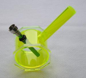 Vodní dýmka - Bongo žlutozelené