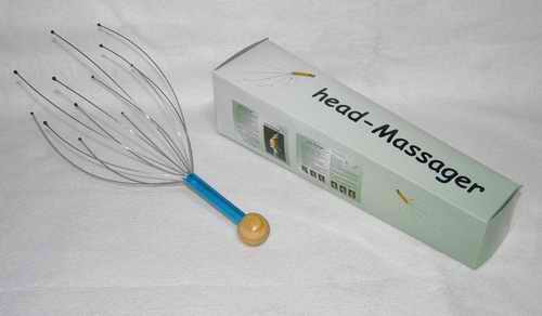Masáž halvy- drbátko - head massager