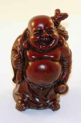 BUDDHA stojící s vakem