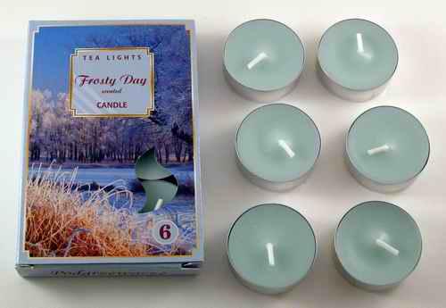 Čajové svíčky - Mrazivý den