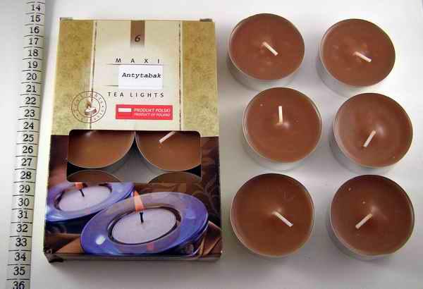 Čajové svíčky - Maxi Antitabák