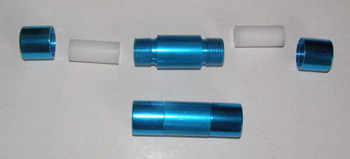 Práškovač modrý