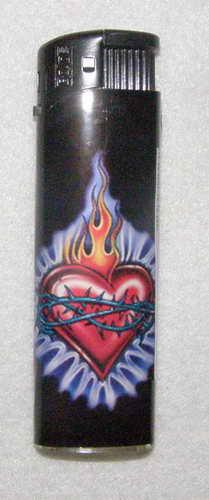Plynový zapalovač - BLACK 4