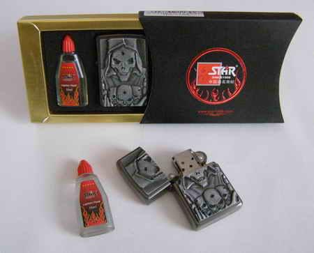 Benzínový zapalovač - SET 8