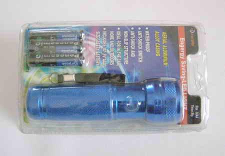 Svítilna 12D blue