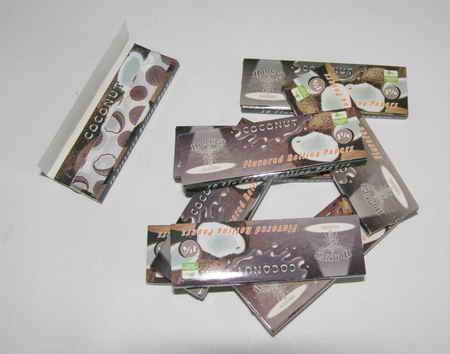Cigaretové papírky - kokos