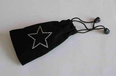 Váček černý hvězda