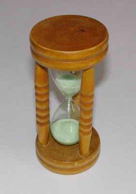 Přesýpací hodiny - zelené