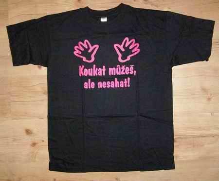 Tričko - Nesahat XXL