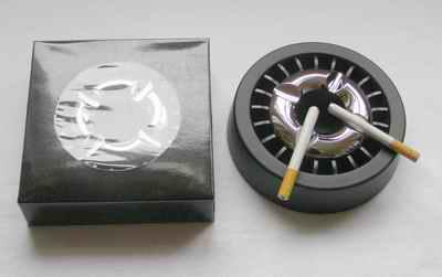 Popelník - Black silver VIP
