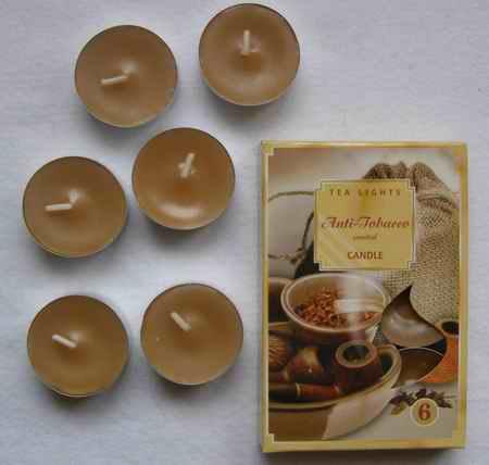 Čajové svíčky - Antitabak