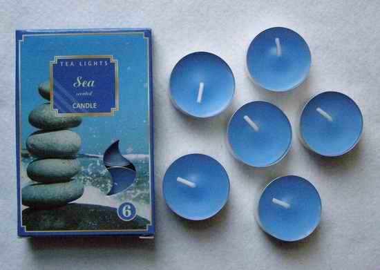 Čajové svíčky - Moře
