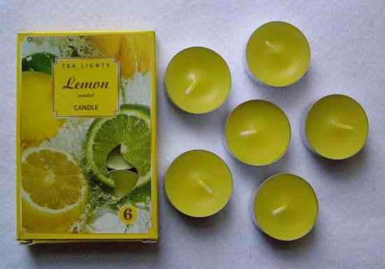 Čajové svíčky - Citron