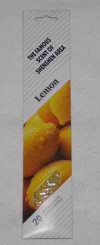 Vonné tyčinky - Citron