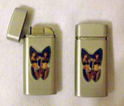 Zapalovač - Motýlek